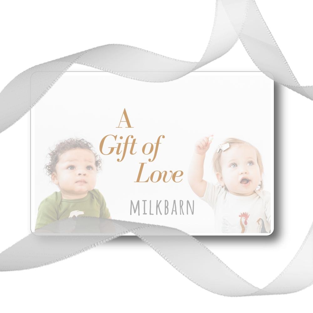 Milkbarn kids Gift Card - A Gift of Love