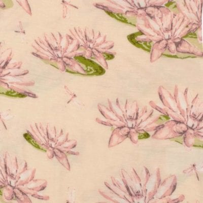 Water Lily Apparel Print by Milkbarn Kids