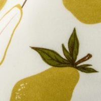 41090 - Pear Kerchief Bib Print by Milkbarn Kids