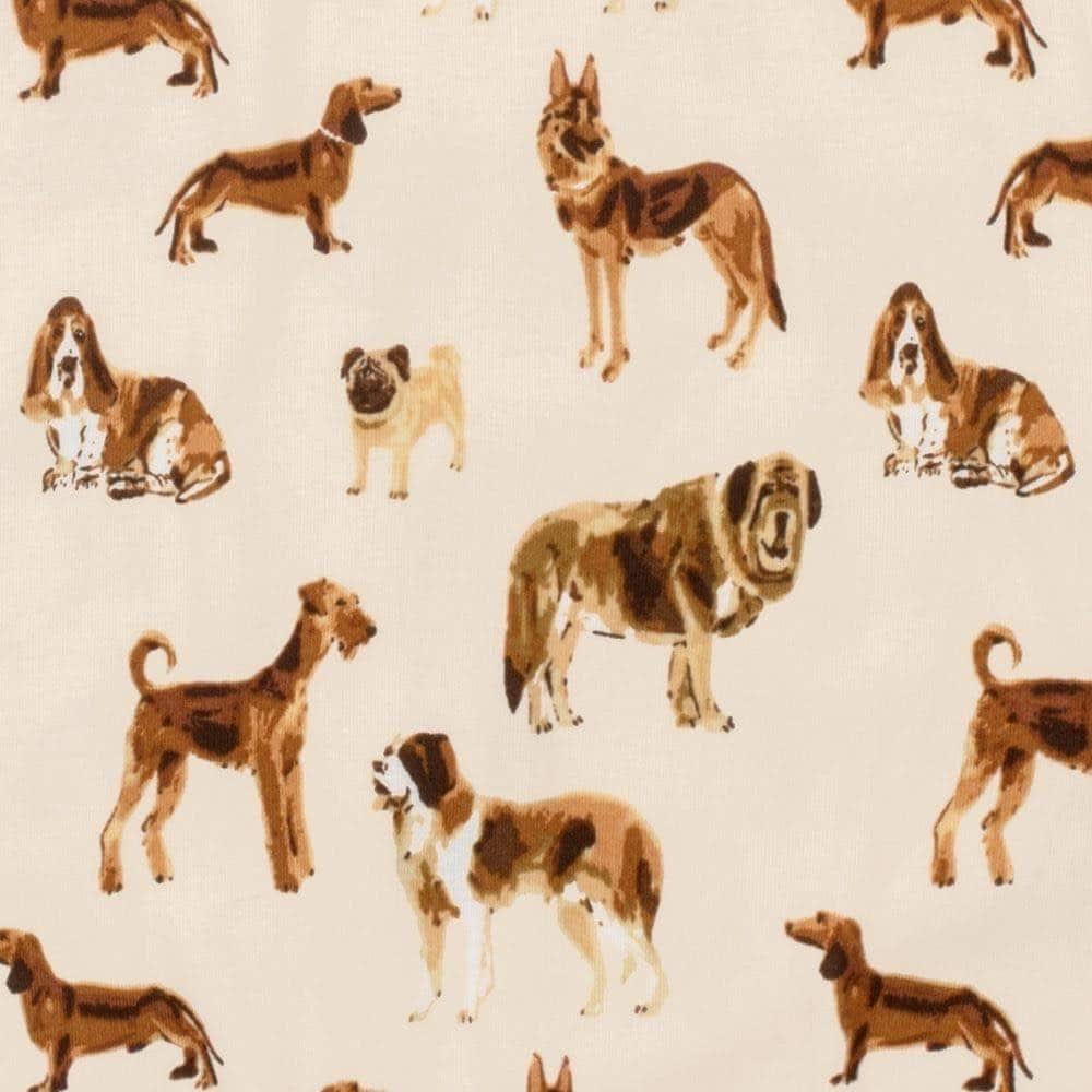 Behind The Print - Natural Dog by Milkbarn Kids