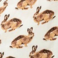 Bunny Print by Milkbarn Kids