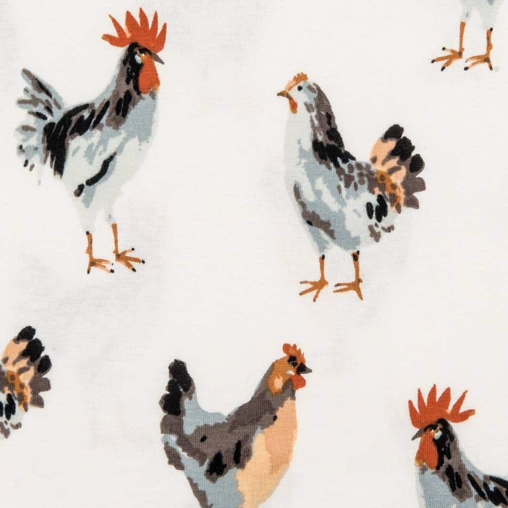 Chicken Apparel Print by Milkbarn Kids