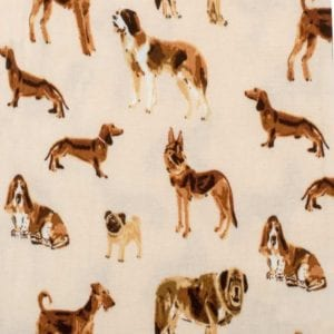 Natural Dog Apparel Print by Milkbarn Kids