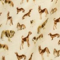 Natural Dog Print by Milkbarn Kids