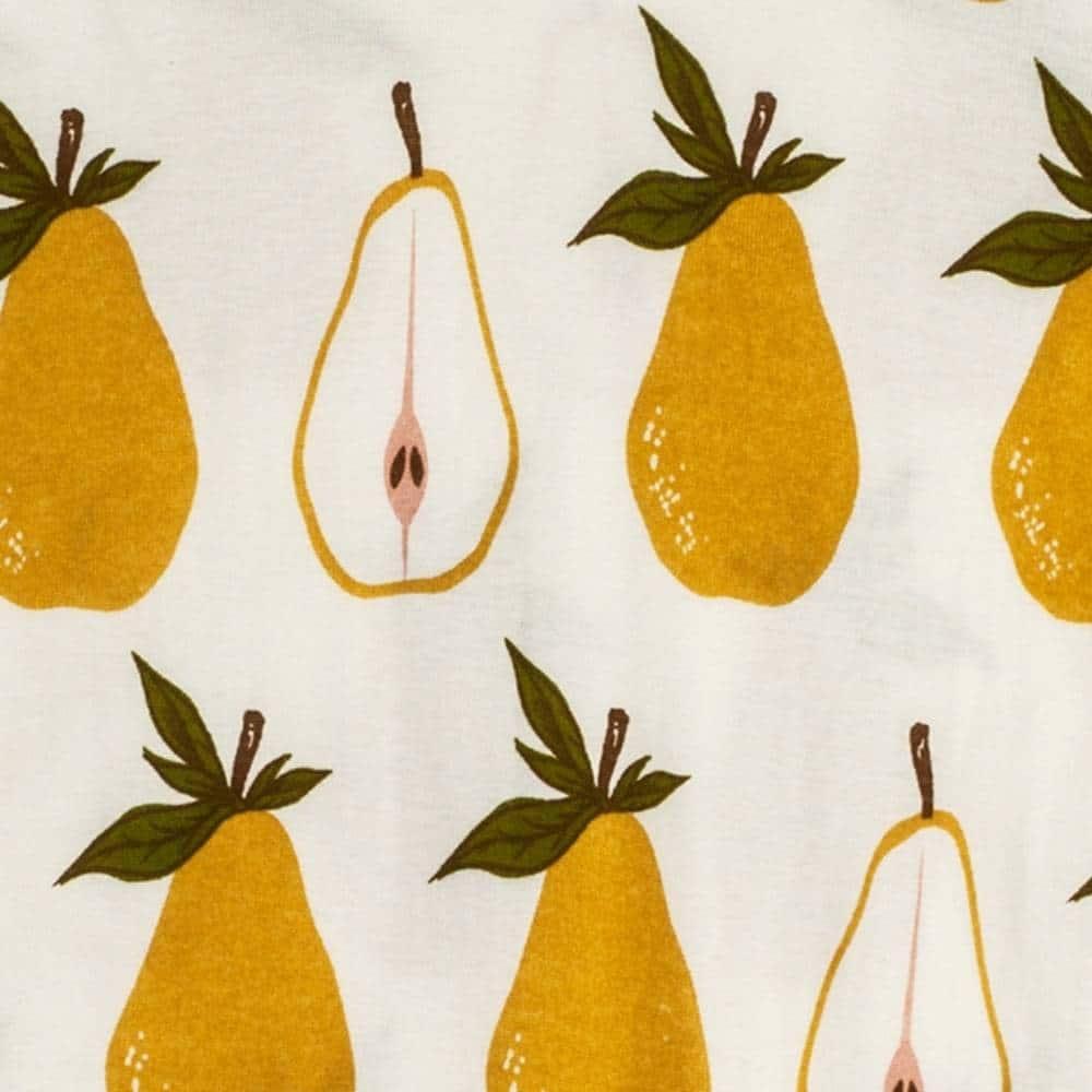 Pear Apparel Print by Milkbarn Kids
