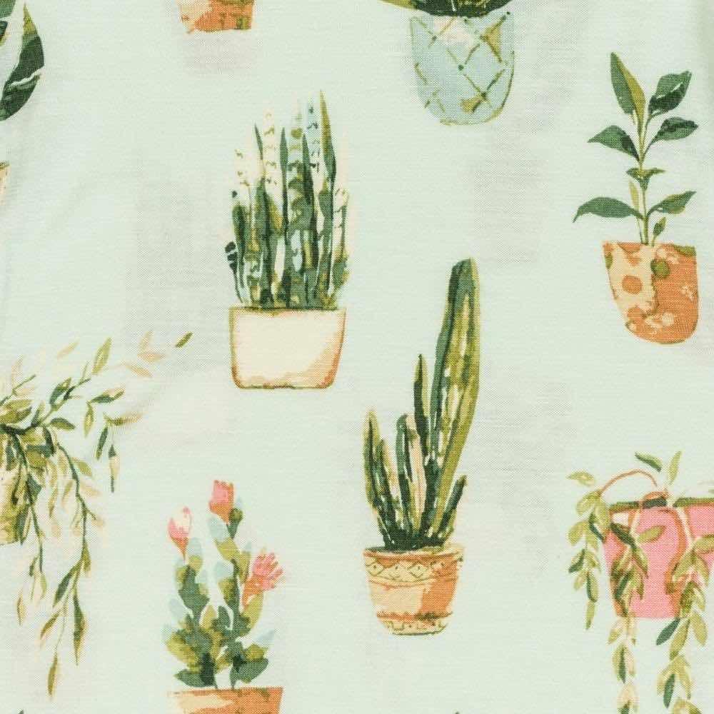 Potted Plants Apparel Print by Milkbarn Kids