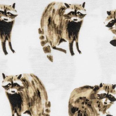 Raccoon Apparel Print by Milkbarn Kids