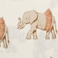 Tutu Elephant Apparel Print by Milkbarn Kids