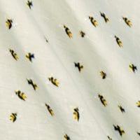 Bumblebee Blanket Print Detail by Milkbarn Kids