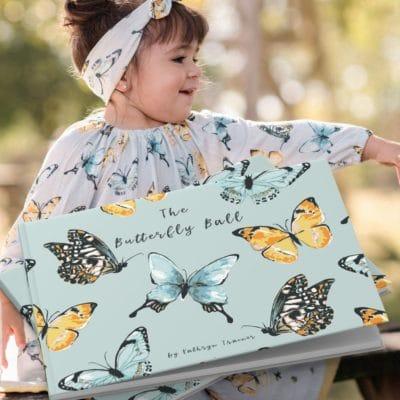Butterfly Ball by Kathryn Trainor for Milkbarn Kids