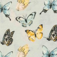 Butterfly Bamboo Print by Milkbarn Kids