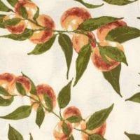 Peaches Print Detail by Milkbarn Kids