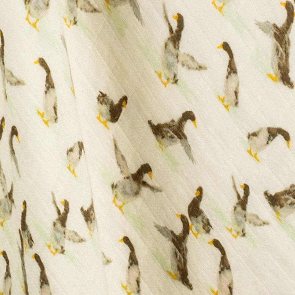 Duck Muslin Big Lovey Detail by Milkbarn Kids