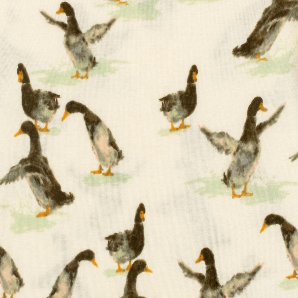 Duck Print by Milkbarn Kids