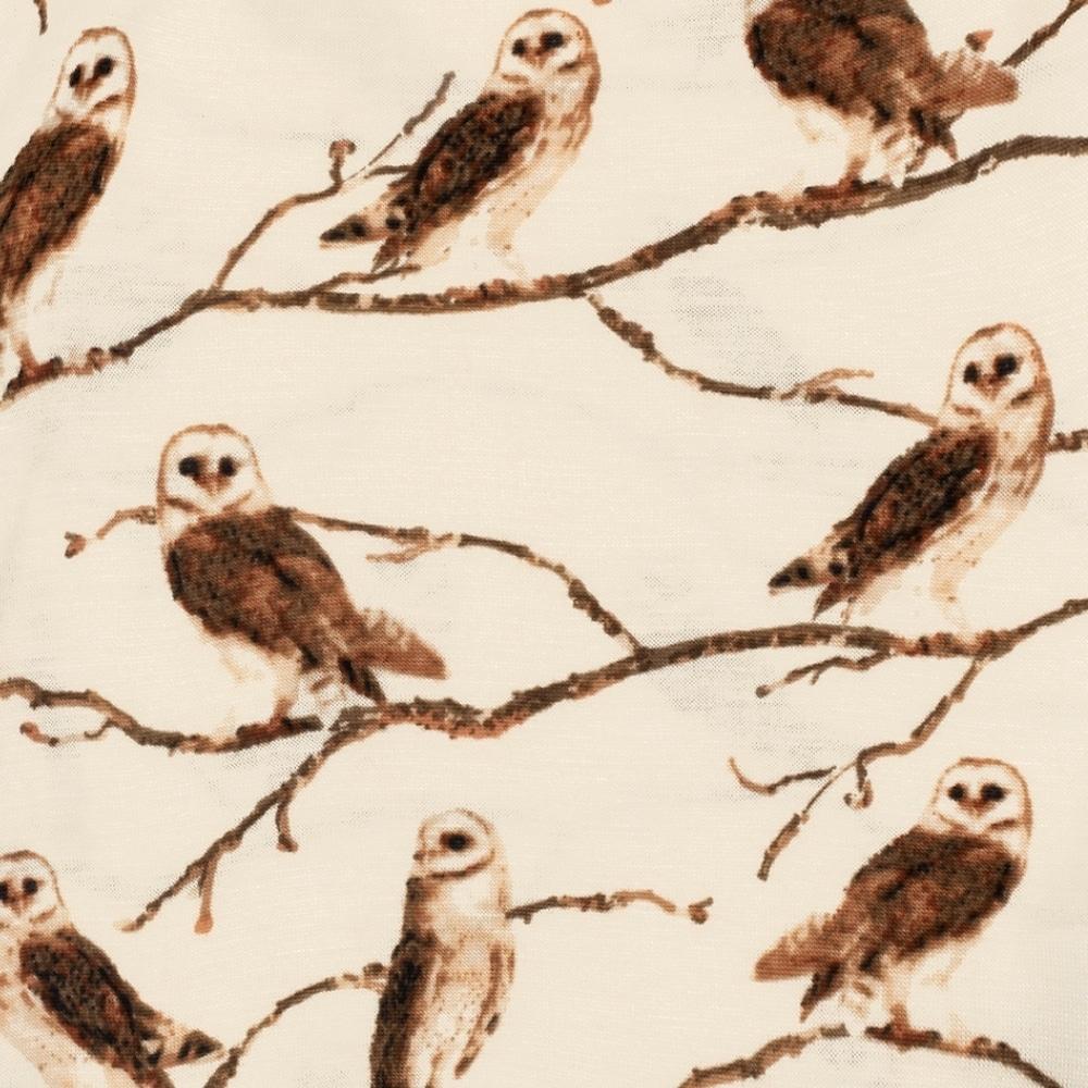 Owl Print by Milkbarn Kids